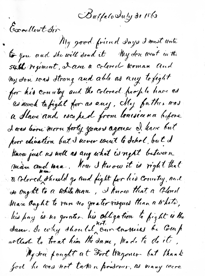 first page of manuscript